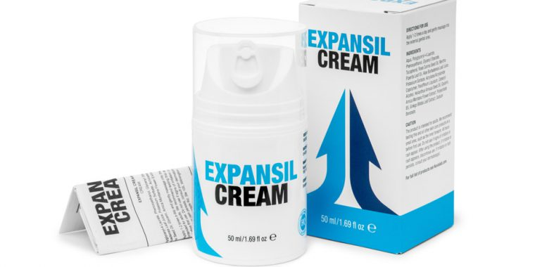 expansil cream opakowanie pudełko