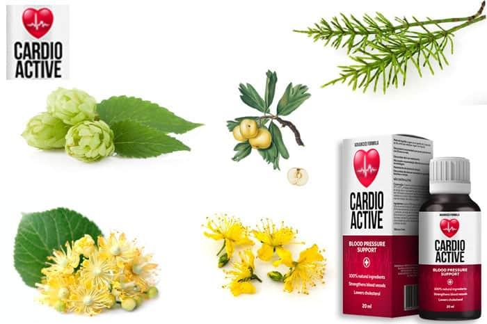 cardioactive ma naturalny skład kwiaty lipy chmiel skrzyp polny głóg