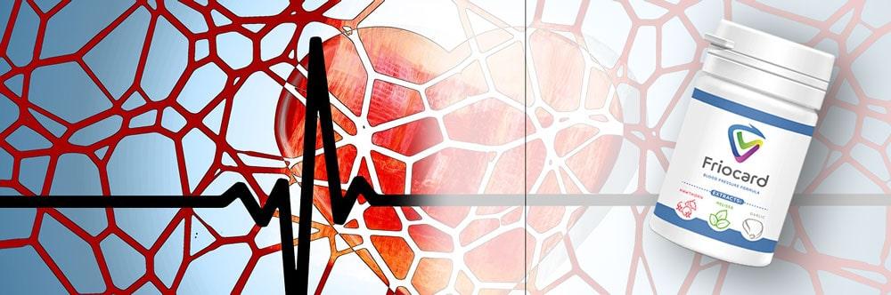 zdrowe naczynia krwionośne tętnice pozwalają zachować odpowiednie ciśnienie krwi a pomaga suplement friocard