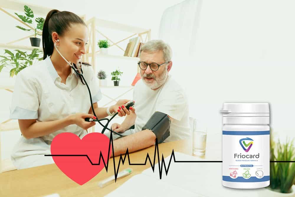naukowcy potwierdzają, że friocard obniża ciśnienie krwi